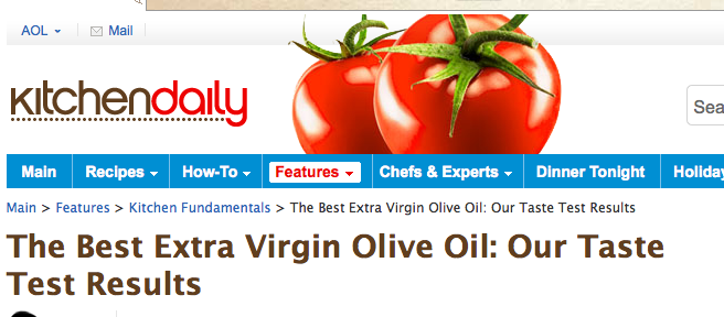 "Taking Issue with ""The Best Extra Virgin"""